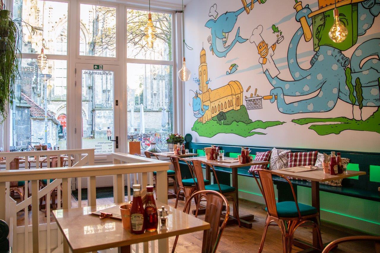 Beryl's Fish&Chips&Veggies - The best fish in town - also vegan restaurant